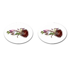 Fairy Magic Faerie In A Dress Cufflinks (oval)