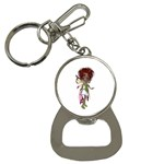 Fairy magic faerie in a dress Bottle Opener Key Chain