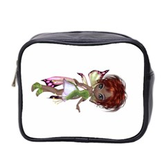 Fairy Magic Faerie In A Dress Mini Travel Toiletry Bag (two Sides)