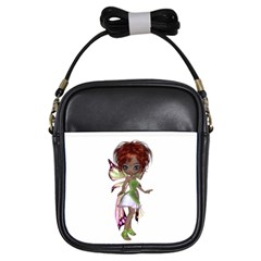 Fairy Magic Faerie In A Dress Girl s Sling Bag by goldenjackal