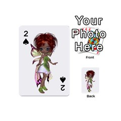 Fairy Nymph Faerie Playing Cards 54 Designs (mini) by goldenjackal