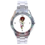 Fairy magic faerie in a dress Stainless Steel Watch