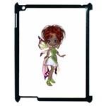 Fairy magic faerie in a dress Apple iPad 2 Case (Black)