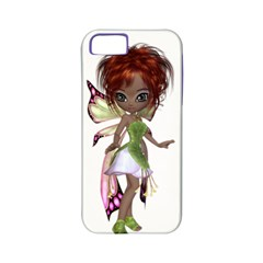 Fairy Magic Faerie In A Dress Apple Iphone 5 Classic Hardshell Case (pc+silicone) by goldenjackal