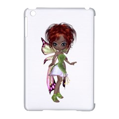 Fairy Magic Faerie In A Dress Apple Ipad Mini Hardshell Case (compatible With Smart Cover) by goldenjackal