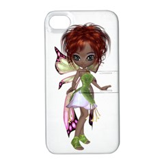 Fairy Magic Faerie In A Dress Apple Iphone 4/4s Hardshell Case With Stand by goldenjackal