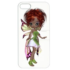 Fairy Magic Faerie In A Dress Apple Iphone 5 Hardshell Case With Stand by goldenjackal