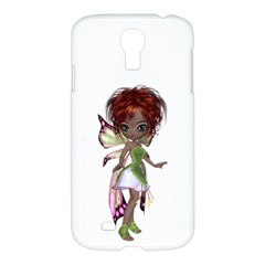 Fairy Magic Faerie In A Dress Samsung Galaxy S4 I9500/i9505 Hardshell Case by goldenjackal