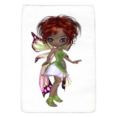 Fairy Magic Faerie In A Dress Removable Flap Cover (small) by goldenjackal
