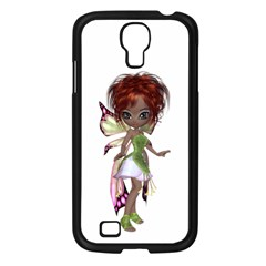 Fairy Magic Faerie In A Dress Samsung Galaxy S4 I9500/ I9505 Case (black) by goldenjackal