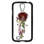 Fairy magic faerie in a dress Samsung Galaxy S4 I9500/ I9505 Case (Black)