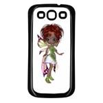 Fairy magic faerie in a dress Samsung Galaxy S3 Back Case (Black)