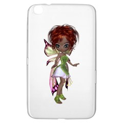 Fairy Magic Faerie In A Dress Samsung Galaxy Tab 3 (8 ) T3100 Hardshell Case  by goldenjackal