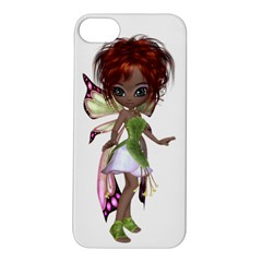 Fairy Magic Faerie In A Dress Apple Iphone 5s Hardshell Case by goldenjackal