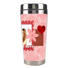 Love By Ki Ki   Stainless Steel Travel Tumbler   Gv6g2jy7qmq8   Www Artscow Com Right