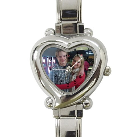 By Amy   Heart Italian Charm Watch   R0vw3gtfuhxg   Www Artscow Com Front