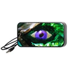 through the eye Portable Speaker (Black) by saprillika