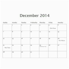 Tailgating Calendar2 By Sposten Hotmail Com   Wall Calendar 11  X 8 5  (12 Months)   Qp2ovcqbie32   Www Artscow Com Dec 2014