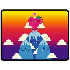 Love On Top Fleece Blanket (extra Large) by Contest1771648