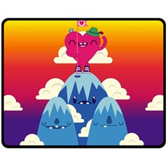 Love On Top Fleece Blanket (medium) by Contest1771648