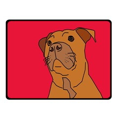 My Dog Fleece Blanket (Small) by Contest1615313