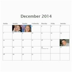 Manny By Manny   Wall Calendar 11  X 8 5  (12 Months)   Dj7py7ygyufg   Www Artscow Com Dec 2014