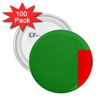 Zambia Flag 2.25  Button (100 pack)