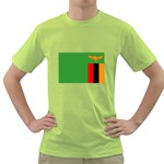 Zambia Flag Green T-Shirt