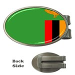 Zambia Flag Money Clip (Oval)