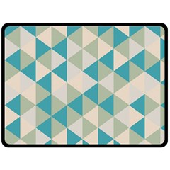 Triangles Fleece Blanket (extra Large) by LoveModa