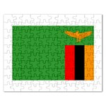 Zambia Flag Jigsaw Puzzle (Rectangular)