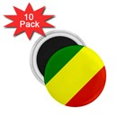 Republic of Congo Flag 1.75  Magnet (10 pack)
