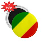 Republic of Congo Flag 2.25  Magnet (10 pack)