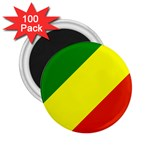 Republic of Congo Flag 2.25  Magnet (100 pack)