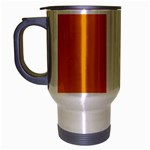 Cote d Ivoire (Ivory Coast) Flag Travel Mug (Silver Gray)