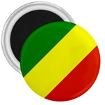Republic of Congo Flag 3  Magnet
