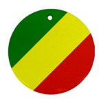 Republic of Congo Flag Ornament (Round)