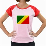 Republic of Congo Flag Women s Cap Sleeve T-Shirt