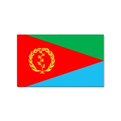 Eritrea Flag Sticker Rectangular (100 pack) from ArtsNow.com Front