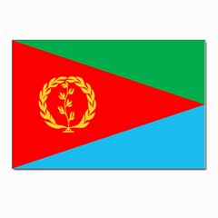 Eritrea Flag Postcards 5  x 7  (Pkg of 10) from ArtsNow.com Front