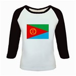 Eritrea Flag Kids Baseball Jersey from ArtsNow.com Front