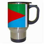 Eritrea Flag Travel Mug (White) from ArtsNow.com Right