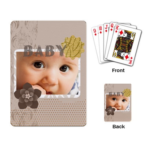 Baby By Joely   Playing Cards Single Design   1hl4b42k1i42   Www Artscow Com Back