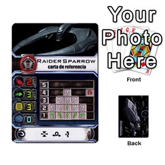 Ace Bsg X Wing Cards By Michael   Playing Cards 54 Designs   Jzko8sh13ibx   Www Artscow Com Front - SpadeA