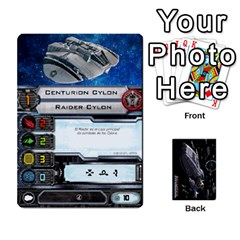 Bsg X Wing Cards By Michael   Playing Cards 54 Designs   Jzko8sh13ibx   Www Artscow Com Front - Heart8