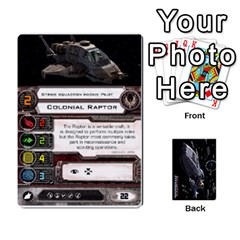 Bsg X Wing Cards By Michael   Playing Cards 54 Designs   Jzko8sh13ibx   Www Artscow Com Front - Diamond5