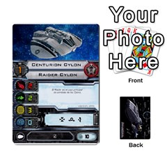 Bsg X Wing Cards By Michael   Playing Cards 54 Designs   Jzko8sh13ibx   Www Artscow Com Front - Club5
