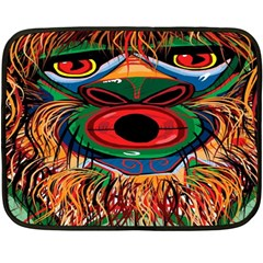 D sonoqua: Whistling woman of the woods Mini Fleece Blanket (Two Sided)
