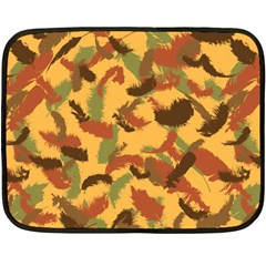 Feathers Fall Mini Fleece Blanket (single Sided) by DesignsbyReg2