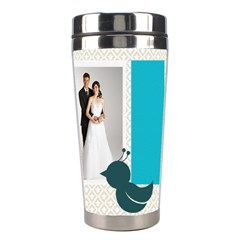 Wedding By Paula Green   Stainless Steel Travel Tumbler   Vpj84i6yf7lo   Www Artscow Com Right